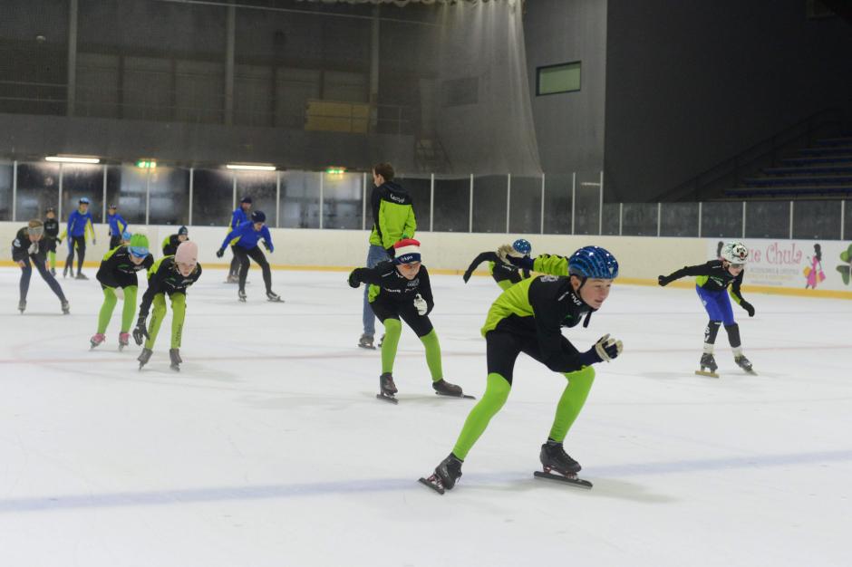 Aftrap schaatsseizoen