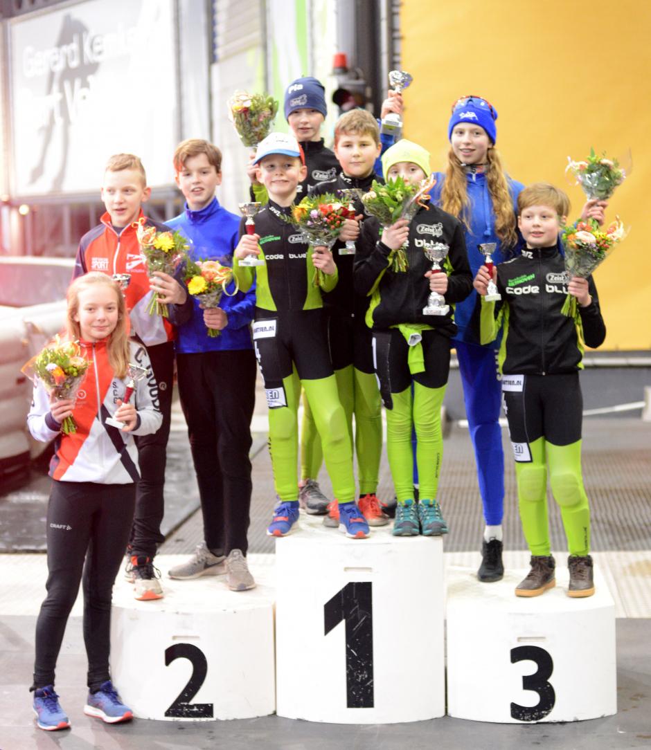 Winnaars Pupillenmarathon